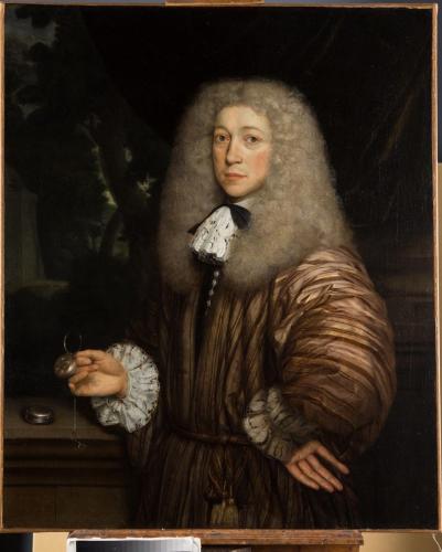 Portrait of a Gentleman - John Michael Wright