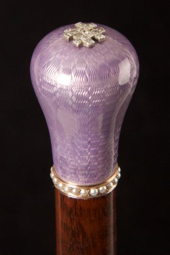 Faberge Handled Cane