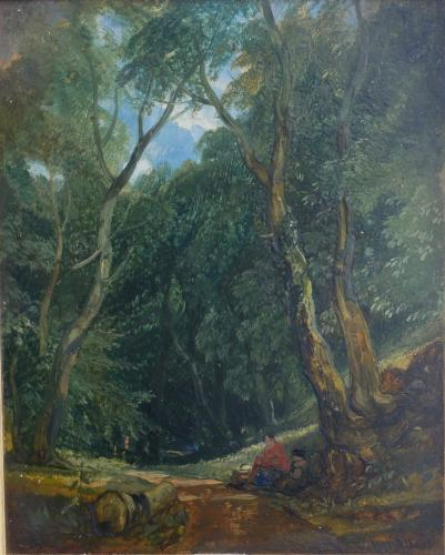Brockley Coombe, Bristol - William James Muller (1812-1845)
