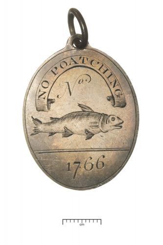 Fishing Club Silver Members Badge