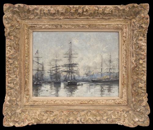 Le Havre, L'Avant-Port - Eugène Boudin  (1824 - 1898)