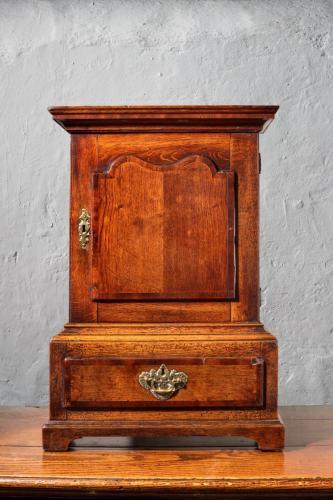 A George II Oak Table Cabinet