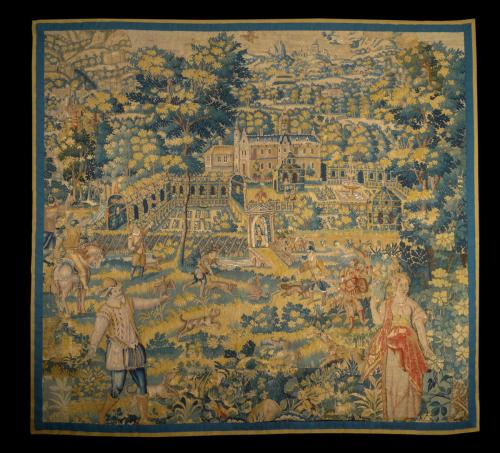 A Late 16th Century Flemish Tapestry Panel