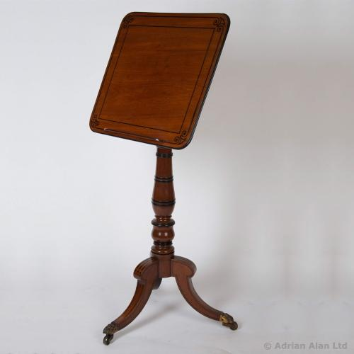 An English Regency Period Adjustable Reading Table - © Adrian Alan Ltd, Fine Arts and Antiques