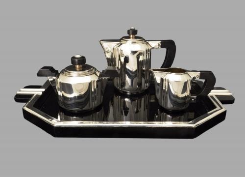 Art deco Spanish tea set