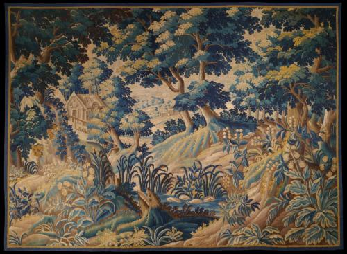 A Good Late-17th Century Flemish Verdure Tapestry