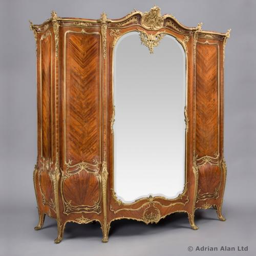Armoire by Zwiener - © Adrian Alan Ltd, Fine Arts and Antiques