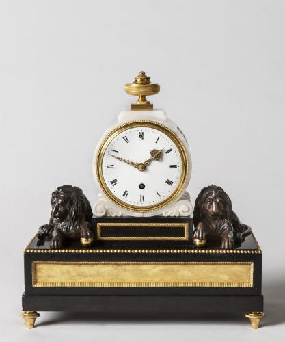 A Benjamin Vulliamy Mantel Clock Made for William Beckford