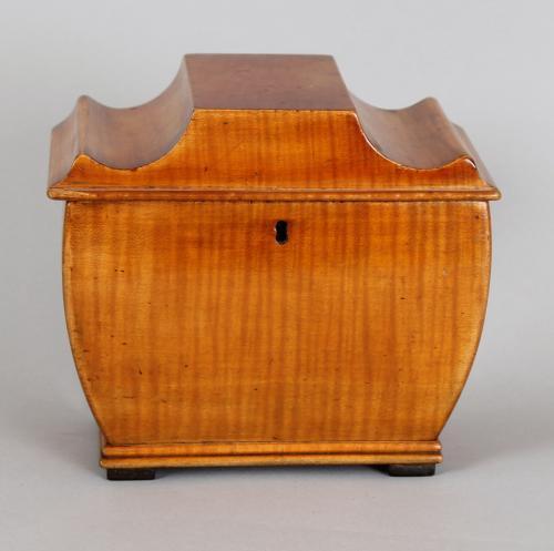Biedermeier tea-caddy