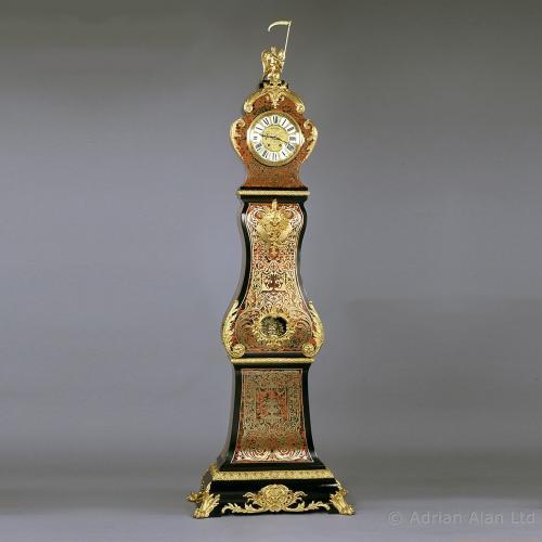 Boulle Longcase Clock ©AdrianAlanLtd