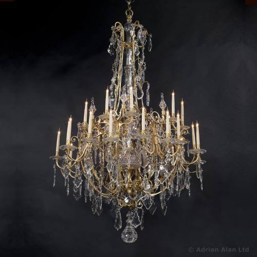A Louis XV Style Chandelier ©AdrianAlanLtd