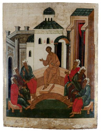 Christ Teaching The Doctors 15th century