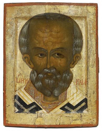 Saint Nicholas the Wonderworker Russian circa 1500