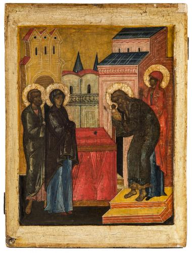 Presentation of Christ in the Temple Russian Novgorod Early 16th century