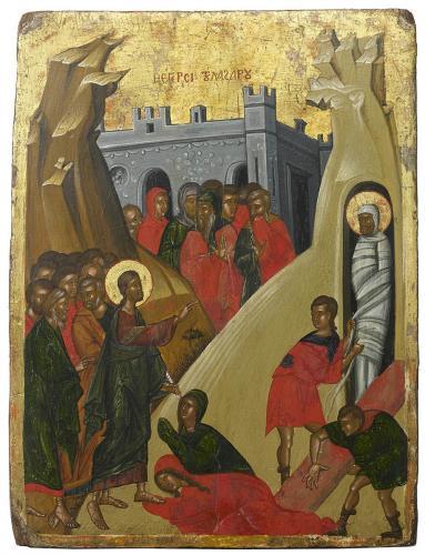 Raising of Lazarus Mid 16th century