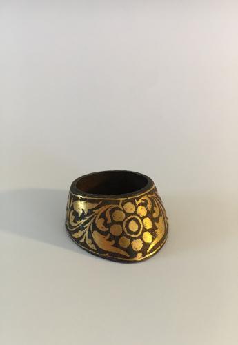 Koftgari Archer's Ring Deccan 19th Century 3.8cm
