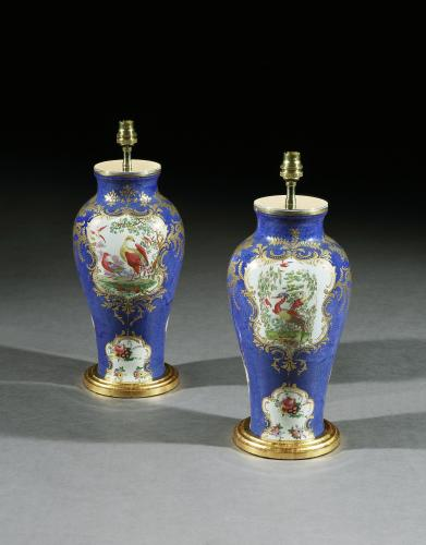A Pair of Late 19th Century English Baluster Vases