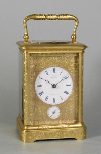 Holingue for Demeur carriage clock