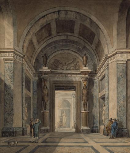 The Sala a Croce Greca in the Museo Pio Clementino, Vatican