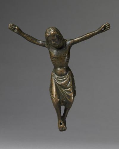 Cristo Morto, Bronze, Eastern France, 14th century