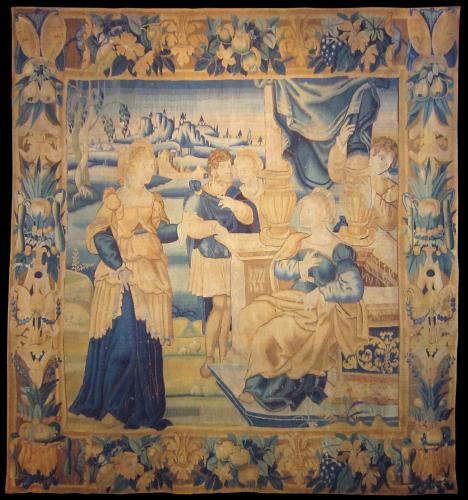 Late 16th Century French Tapestry