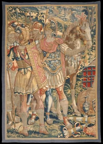 Early 17th Century Brussels Tapestry Panel