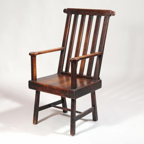 Oak and Elm Armchair - possibly Scottish.