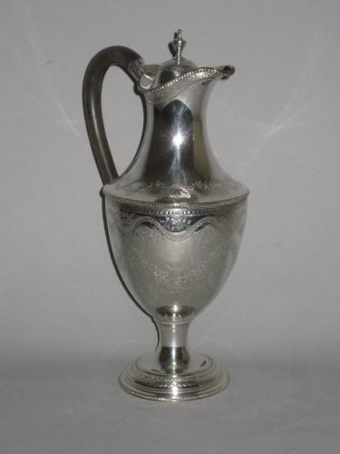 OLD SHEFFIELD PLATE SILVER EWER. CIRCA 1775