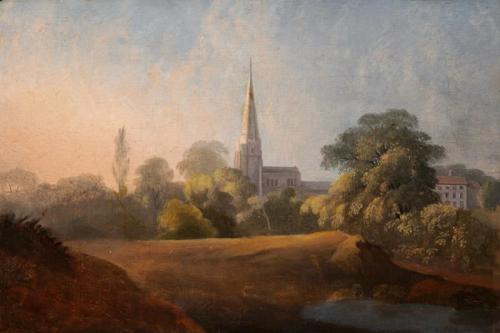 Morley Church & Rectory, Derbyshire.