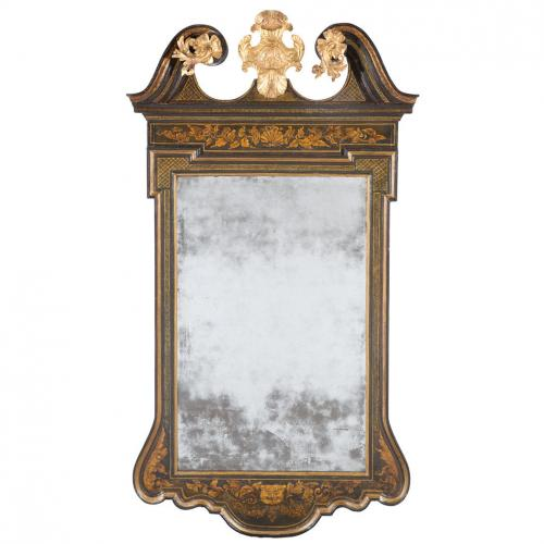 George II Japanned Mirror Attributed to Giles Grendey