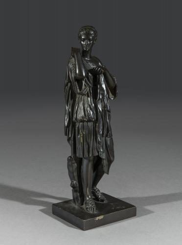 Late 19th Century Bronze Statue of Diane De Gabies Italian Circa 1870