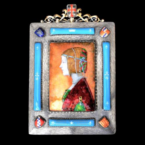 Milon Andreewitch enamel plaque