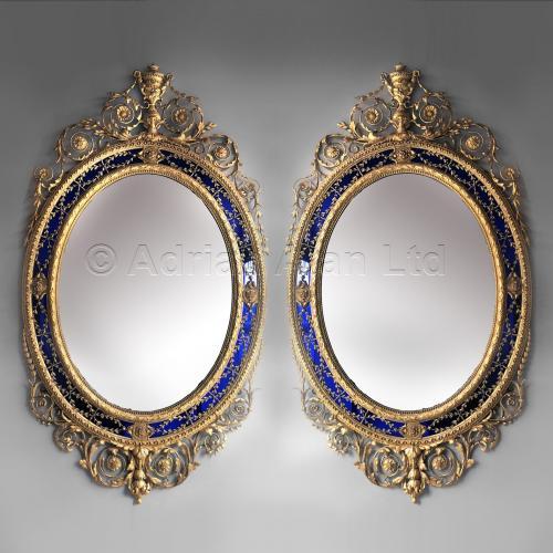 Pair of Georgian Mirrors ©AdrianAlanLtd