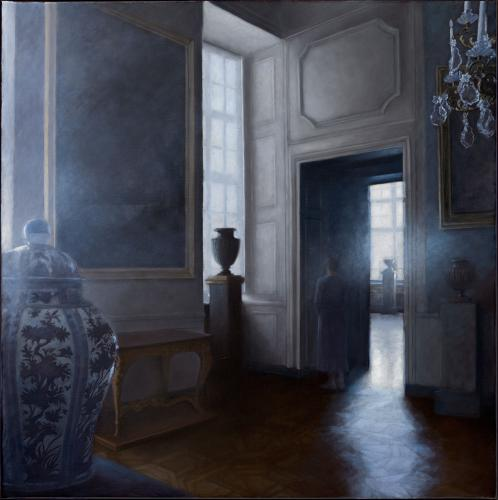 Geneviève Daël Le Miroir des songes 2018 Oil on canvas
