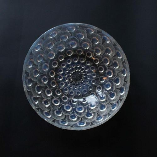 Rene Lalique Plumes de Paon Bowl