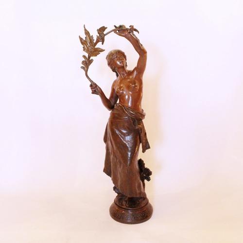 Auguste Moreau Bronze Gypsy