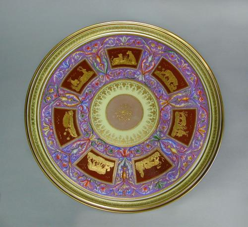 Vienna porcelain tray, c.1798