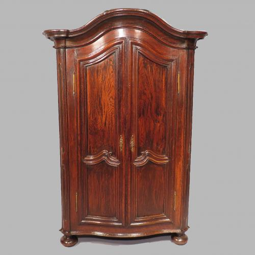 An 18th Century French Oak Armoire