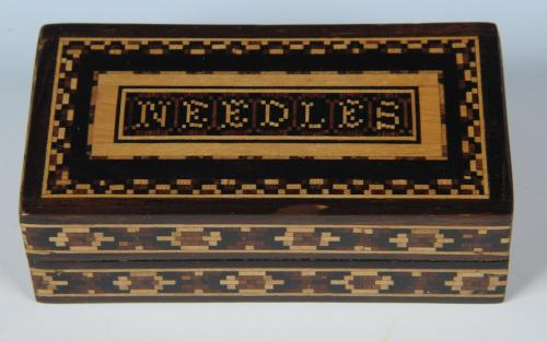 Tunbridge Ware Needles Box