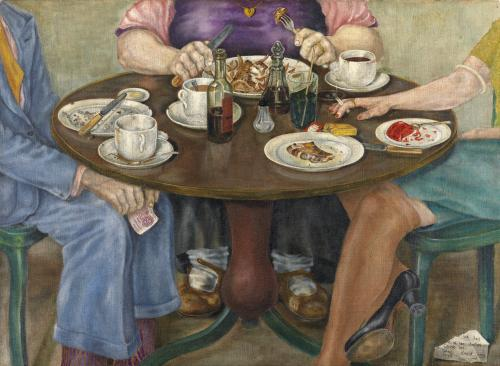 'And Her Mother Came Too'  Oil on canvas  David Craig, 1948