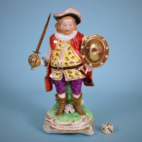 Derby Figure of James Quinn as Sir John Falstaff