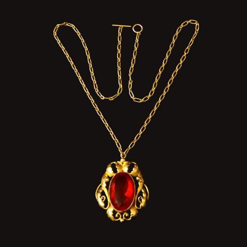 Georg Jensen gold pendant