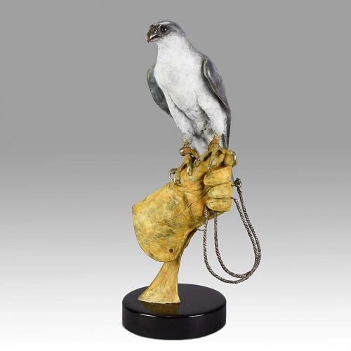 "Limited Edition Animalier Bronze  ""The Hunt Begins"" by Steve Winterburn"