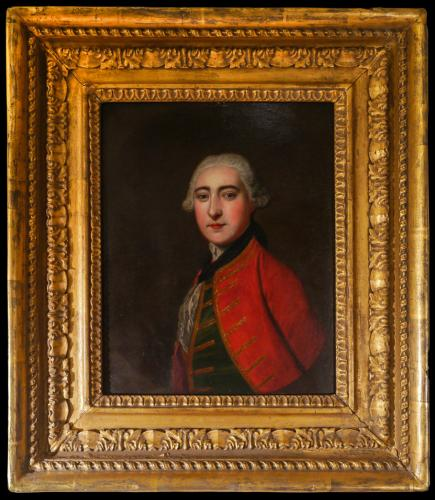 Oil on Copper Panel Lord Cardross, born June 12th, 1742
