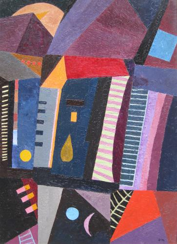 Mansardes by Denise Mannoni (1918 – 2003)