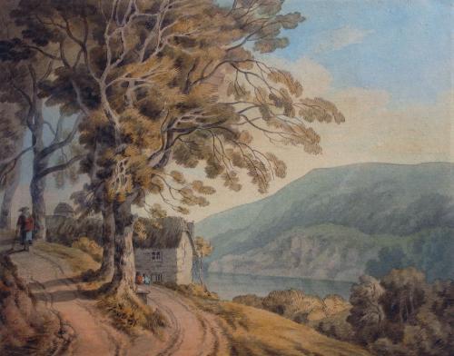 Greenaway on the Dart, Devon, by John White Abbott 1763-1851