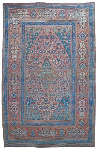 Antique Khorrassan carpet