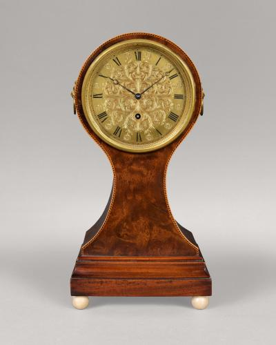 Regency balloon timepiece