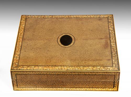 6625 Chinese Export Lacquer Games Box