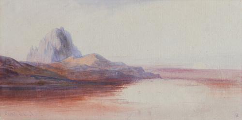 Edward Lear, R.A. (1812-1888) Pentedatilo, Calabria